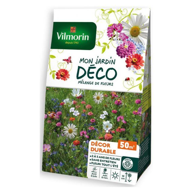Vilmorin Sachet graines Mélange de fleurs Durable 50m2