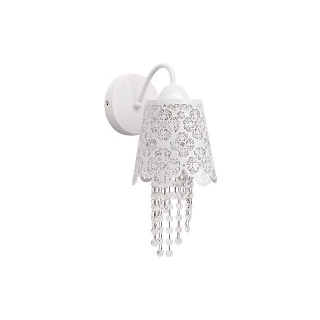 Mw Light Applique Elegance Blanc 1x60W - 472020601