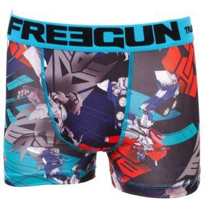 Freegun - Sous vêtement boxer Tf bleu/br boxer jr Bleu 24001 12-14 ans