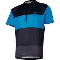 Ixs - Trail 6.1 - Maillot manches courtes - bleu/noir