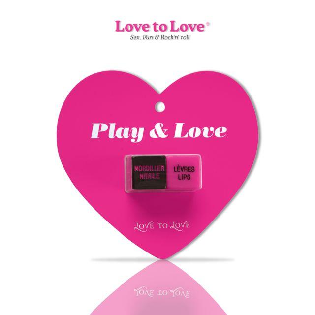 Love To Love - Jeu de Dès Play & Love Unisexe
