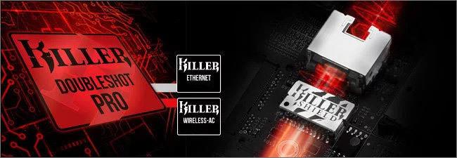 MSI Killer Doubleshot Pro / Shield