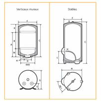 CHAFFOTEAUX - Chauffe-eau électrique HPC2 Stable 270L