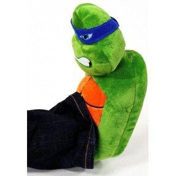 Tortues ninja chausson peluche tortue ninja pour enfant - Tortue ninja couleur ...