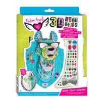 Lansay - Kit tête d'animal 3D à monter : Zeek le chiot