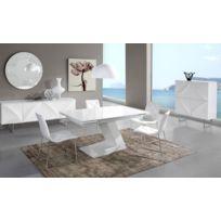 Salle manger blanc laque - catalogue 2019 - [RueDuCommerce - Carrefour]
