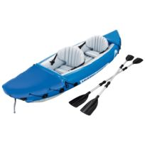 BESTWAY - Kayak gonflable lite rapide - 2 personnes - Bleu