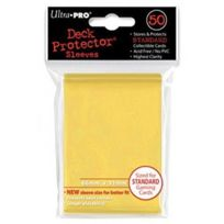 Ultra Pro - 50 pochettes Deck Protector Solid Jaune