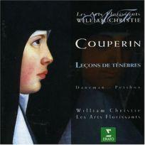 Erato - Couperin - LeÇONS De TÉNÈBRES Daneman, Petibon, Les Arts Florissants, Christie - Cd
