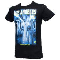 Cbk - Tee shirt manches courtes Los angeles noir mc tee Noir 60672
