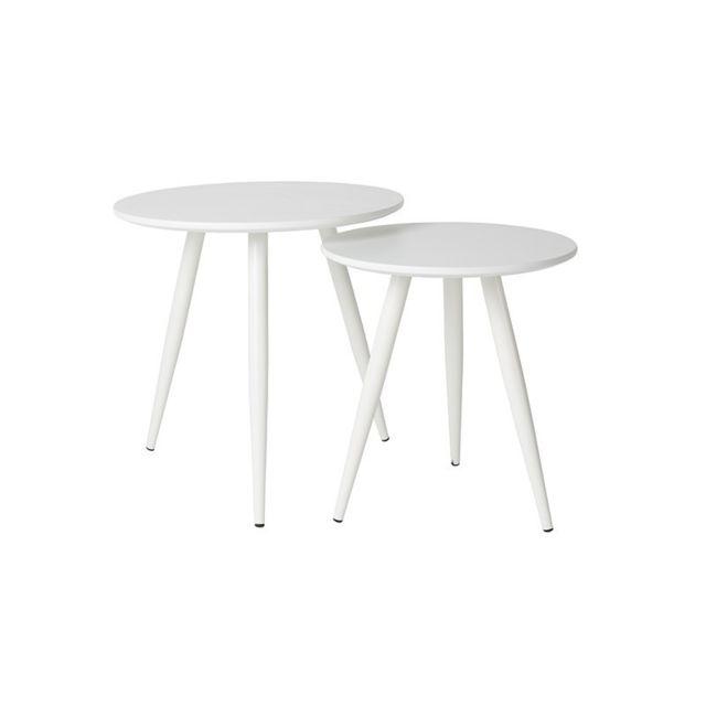 Boite A Design Set de deux tables d'appoint Daven