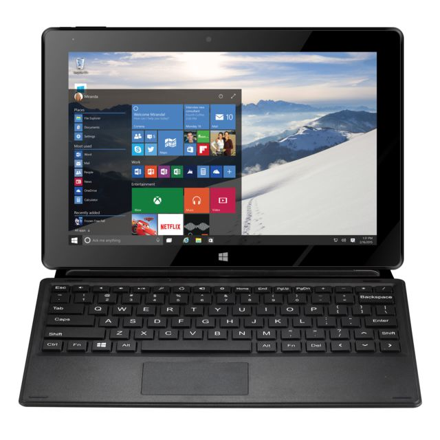 THOMSON Tablette PC 2-en-1 Prestige 10   - Noir pas cher - Achat ... 859bfefb97f3