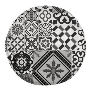 tapis rond pas cher. Black Bedroom Furniture Sets. Home Design Ideas