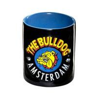 The Bulldog - mug relief noir et bleu