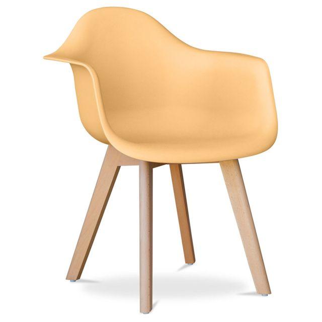 Privatefloor - Chaise Daw Charles Eames - Polypropylène ...