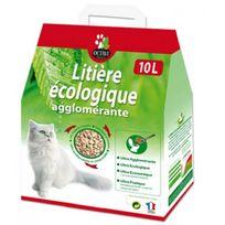 Naturlys - Litière écologique agglomérante pour chats Sac 10 litres