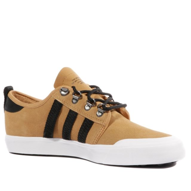 Adidas Seeley Outdoor Homme Chaussures Skateboard Marron