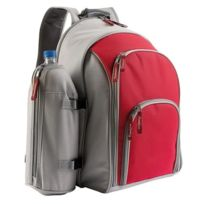 FREE LINE - sac à dos de pique nique isotherme complet rouge - se970r