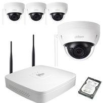 SecuriteGOODdeal - Kit video Wifi Dahua 4 Domes 1MP