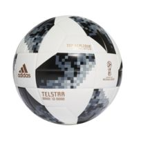 Ballon Adidas Coupe Du Monde 2018 Top Replique T.5 Blanc/noir