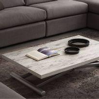 Table basse relevable avec rallonge achat table basse - Table basse relevable a rallonge ...