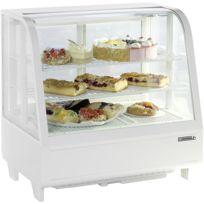 CASSELIN - vitrine réfrigérée à poser 100l blanc - cvr100lb