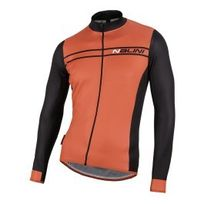 Nalini - Maillot Red Label Sinello Warm manches longues rouge noir