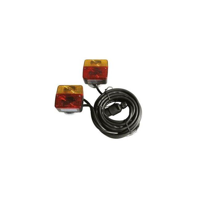 Kit d/'éclairage remorque magnétique 7,50m