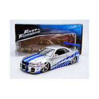 Jada Toys - 1/24 - Nissan Skyline Gtr R34 - Fast And Furious - 97158S
