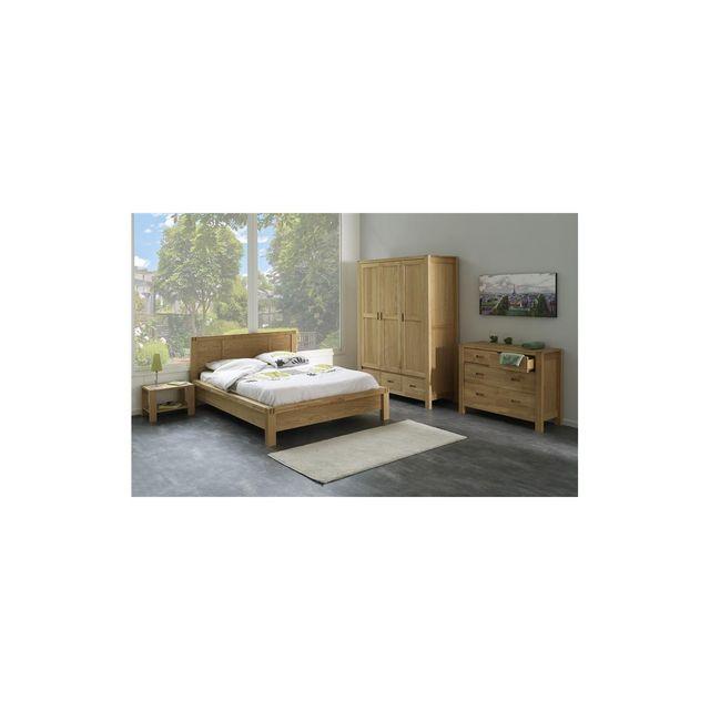 Altobuy Vogue - Chambre Complète avec lit 140x190cm