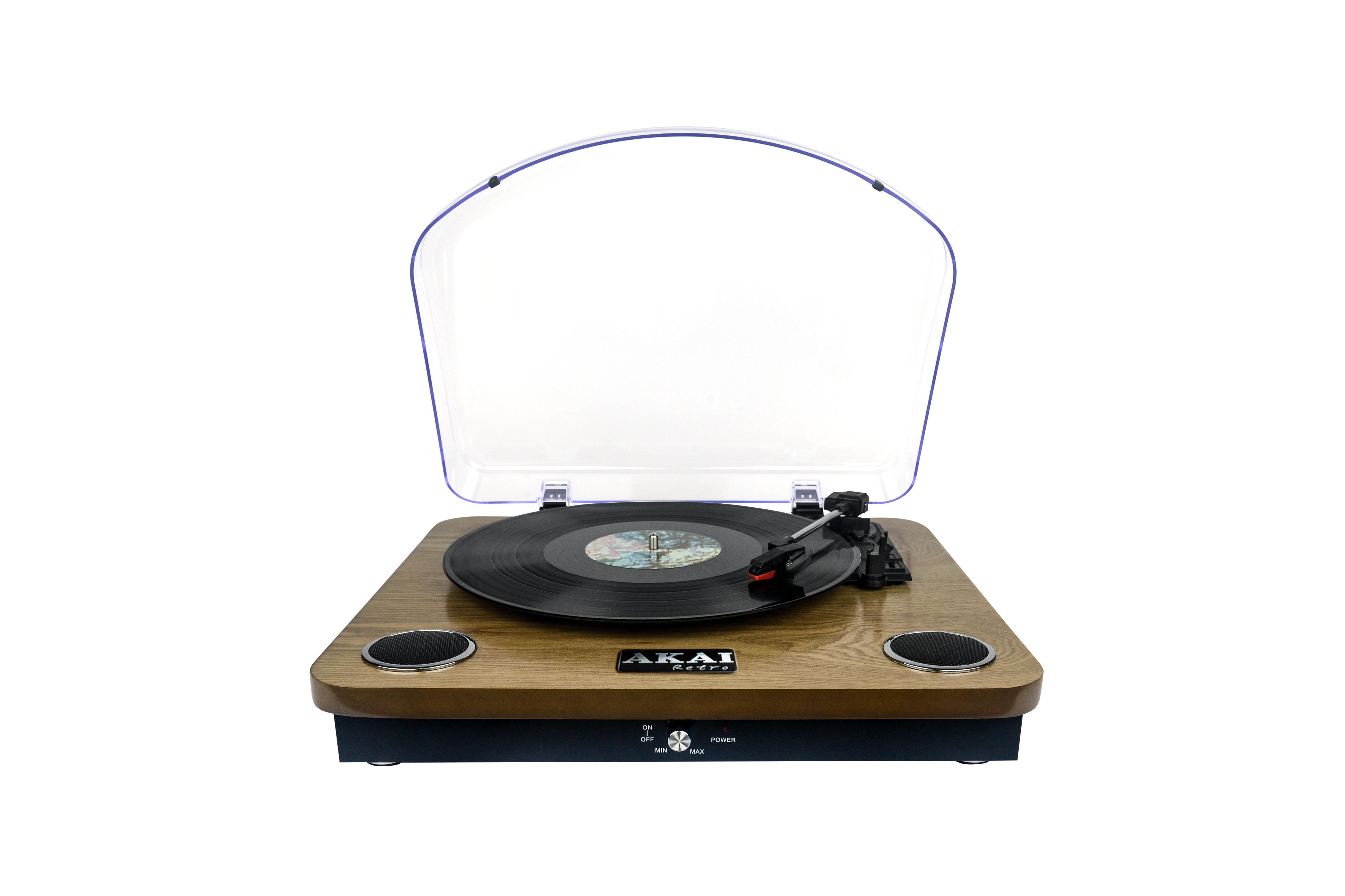 akai tourne disque retro bois bluetooth usb pas cher achat vente platines vinyle. Black Bedroom Furniture Sets. Home Design Ideas