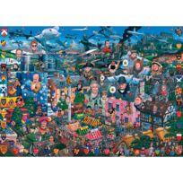 Gibsons Games - Puzzle 1000 pièces - J'aime la Grande Bretagne