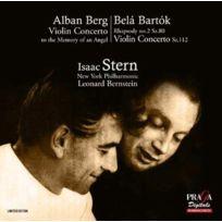 """Praga Digitals - Alban Berg - Concerto pour violon """"A la mémoire d'un ange"""" Boitier cristal"""