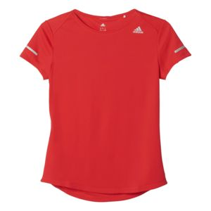 tee shirt femme adidas rouge