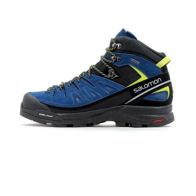 Salomon Chaussure de randonnée en cuir X Alp Mid Ltr Gore