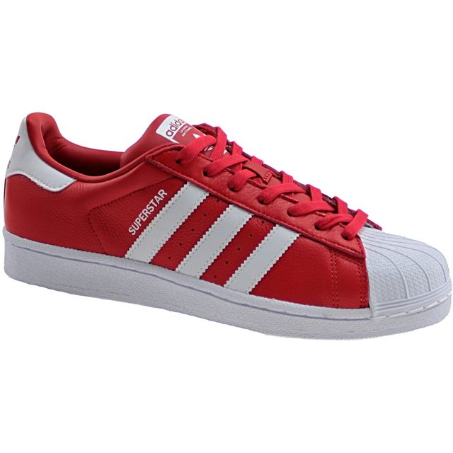 adidas superstar pas cher rouge