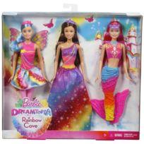 Barbie - Pack de 3 Dreamtopia - DWV50