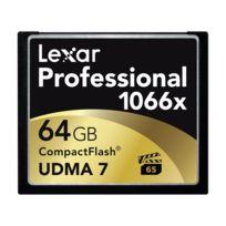 Lexar - Carte Cf 64 Go 1066X Professional Udma