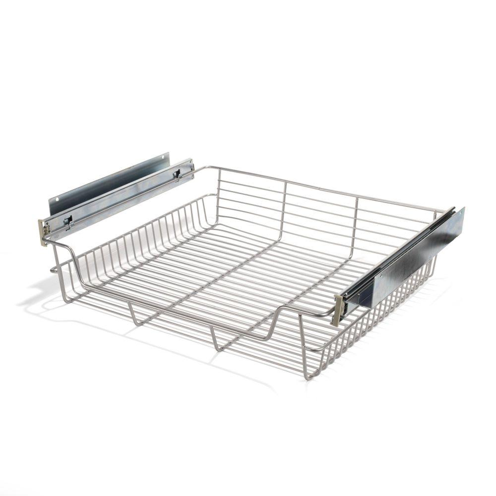 alin a pragma panier coulissant pour meuble de cuisine l40cm pas cher achat vente meubles. Black Bedroom Furniture Sets. Home Design Ideas