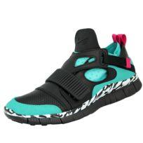 Nike - Free Huarache Carnivore Sp Chaussures Mode Sneakers Homme Noir Vert