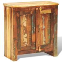 Vidaxl Cabinet vintage Multicolore 2 portes