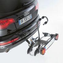 Porte-vélo plateforme, basculable sur attelage Premium 2 vélos A018P2RA, fixation sur boule d'attelage