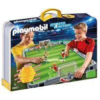 Playmobil - Terrain de football transportable - 6857