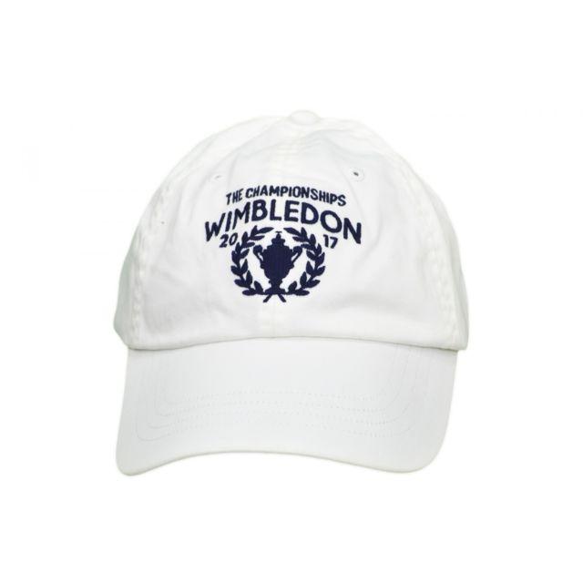 Ralph Lauren - Casquette Wimbledon blanche pour homme - pas cher Achat   Vente  Casquettes, bonnets, chapeaux - RueDuCommerce 9247339c744