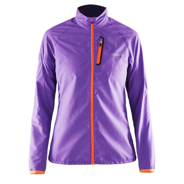 new high top brands dirt cheap Craft - Veste Running Devotion Dame Lila Et Orange Veste de ...