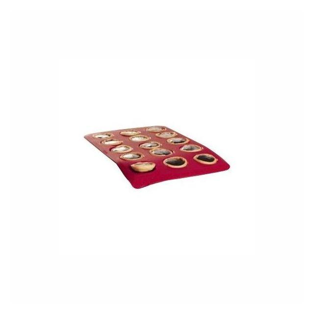 Pyrex Moule à 15 Mini-Tartelettes Silicone Flexi Twist