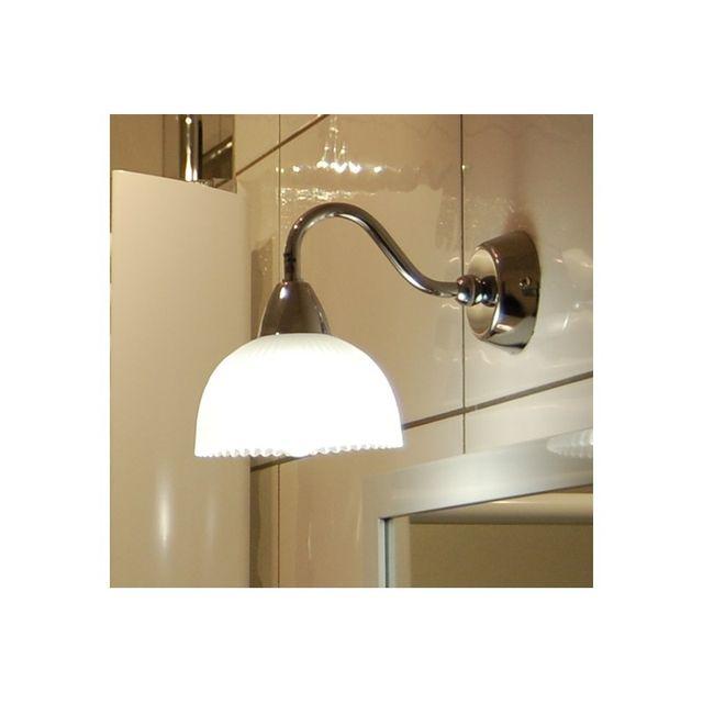 Merveilleux Concept Verre   Applique Salle De Bain Josepha   Classe 2   Ip24