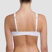 Soutien-gorge blanc sans couture Body Touch Femme