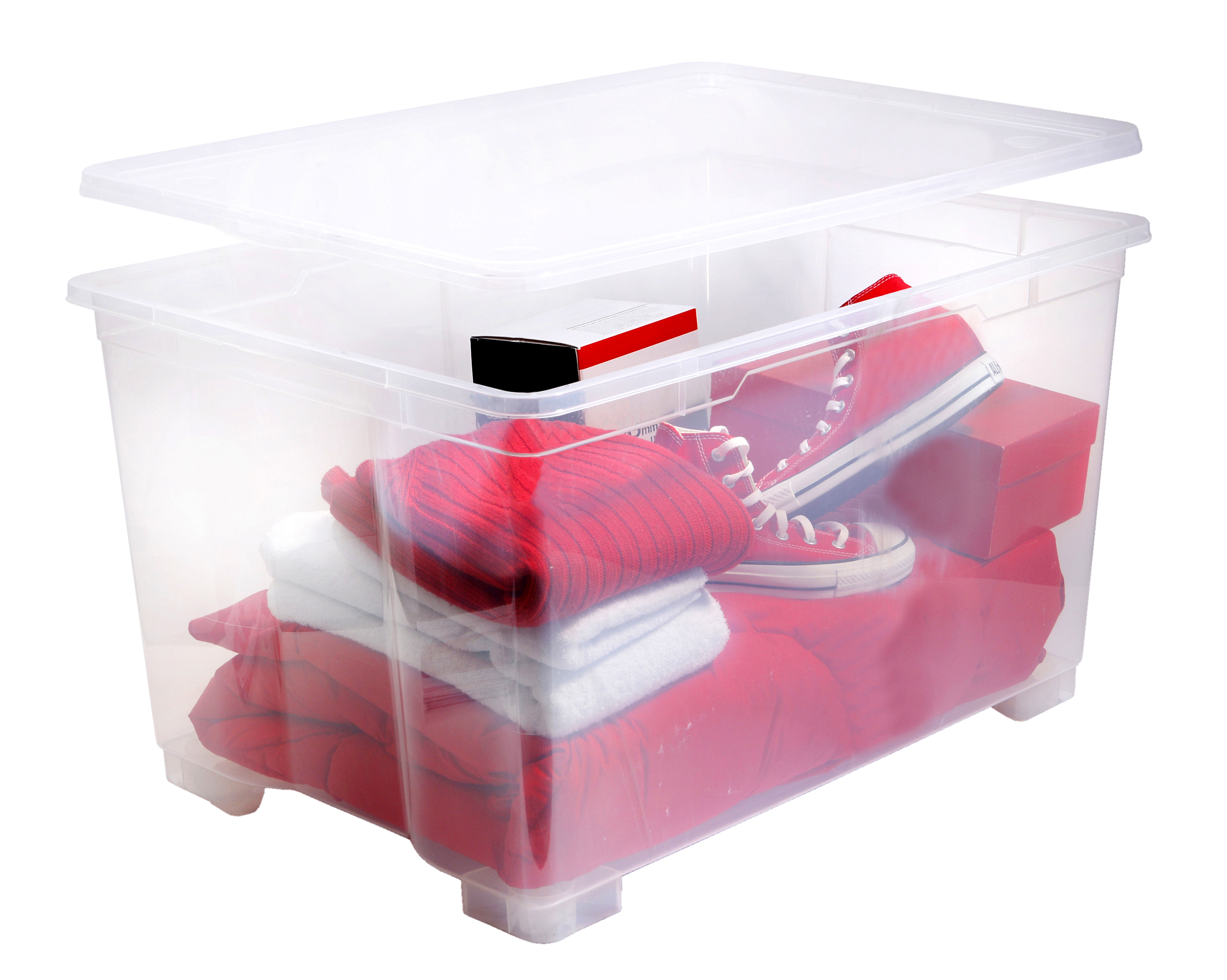 caisse de rangement plastique pliable. Black Bedroom Furniture Sets. Home Design Ideas