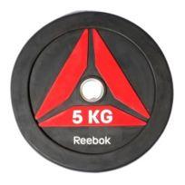 Reebok Fitness - Disque olympique Reebok Bumper Plate 5 kg